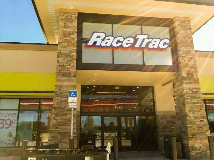 racetrac exterior pressure washing